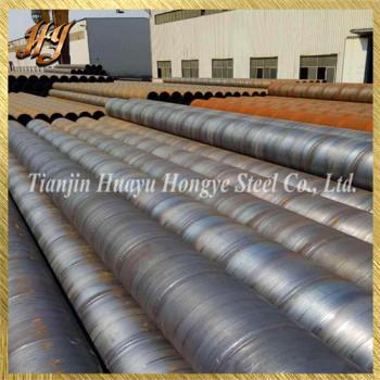 Spiral Steel Tube Threaded Steel Pipe