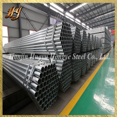 Q195 Round Galvanized Steel Pipe for Greenhouse