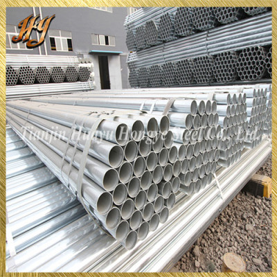 Q235 ERW Pre Galvanized Steel Pipe for Fence