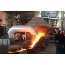 JSPL new built India's largest blast furnace successfully ignited