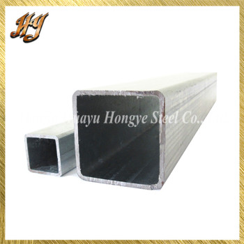 ASTM A106 2x2 Galvanized Square Steel Tubing for Green houses