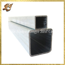 Zinc Coated ERW Pre Galvanised Square steel tube