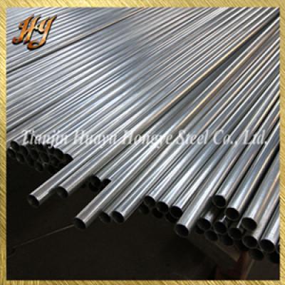 DIN2444 1 2 Pre Galvanised steel tube for stair handrail