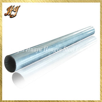 Galvanized Round Steel Pipe / Tubing for Greenhouse