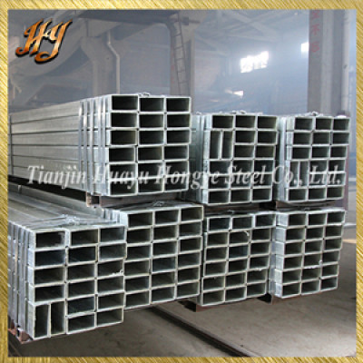 LASW galvanized square steel pipe for fence use