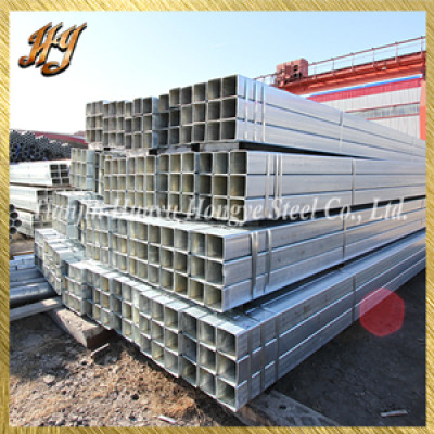 EN10025 S355GR building material galvanized square steel pipe