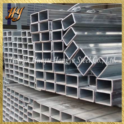 galvanized hollow section / galvanized square steel pipe