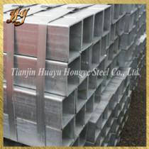 galvanized iron pipe / square iron steel pipe