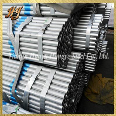 hot sell pre gi steel pipe / pre galvanized steel pipe