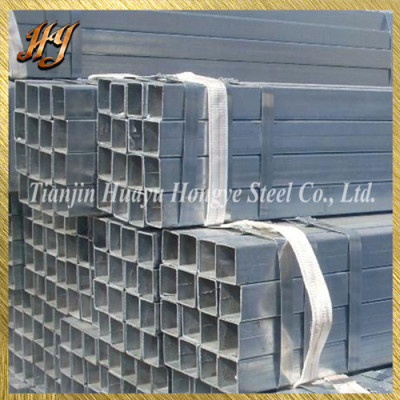 Square Hollow Section 25*25 Pre Galvanised Steel Tube