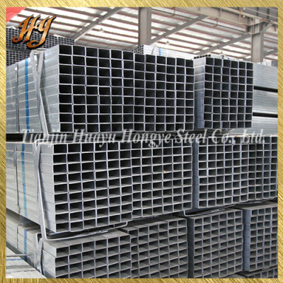 30*30 Pre Galvanised Square Steel Tube for Industrial Gates