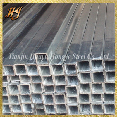 40*40 Pre Galvanised Square Steel Tube for Parking Lots
