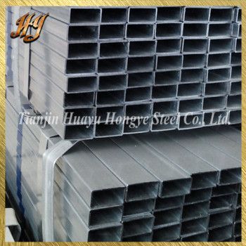 Mild Hollow Square Section Pre galvanized Steel Tube
