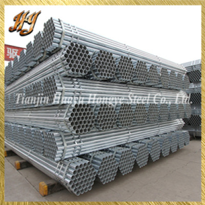 JIS G3456 galvanized steel pipe for agriculture