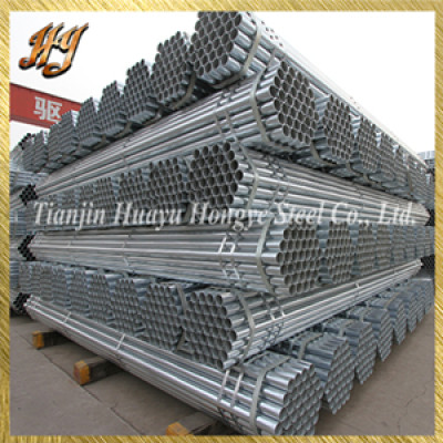 ASTM B729 galvanized steel pipe for architecture