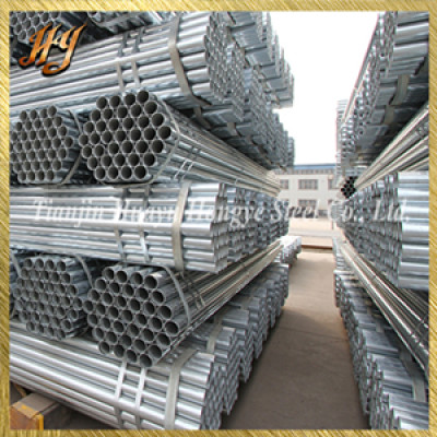 JIS G4051 galvanized steel pipe for chair