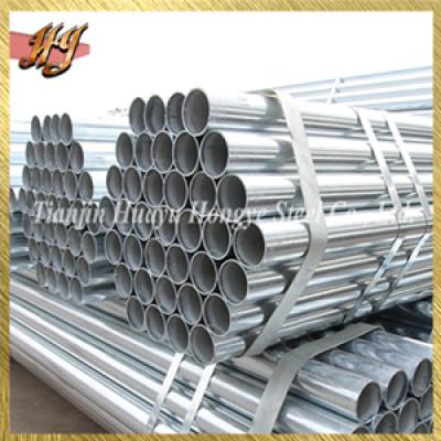 DIN EN 10025 galvanized steel pipe for greenhouse