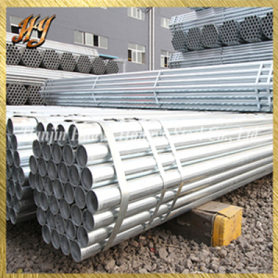 BS10305 cold drawn galvanized steel pipe