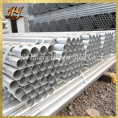 GB/T3091 hot finished galvanized steel pipe