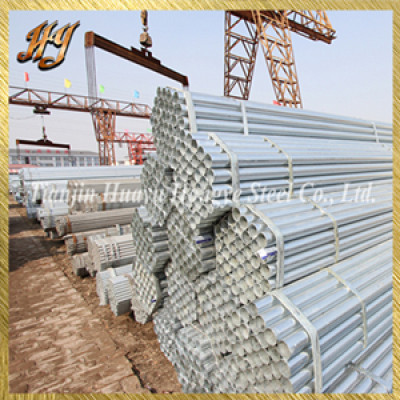 Best Price JIS Standard Pre Galvanized round steel pipe
