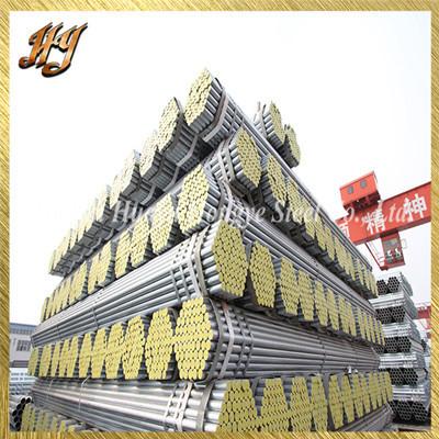 ASTM A500 19mm Pre Galvanised Steel tubes
