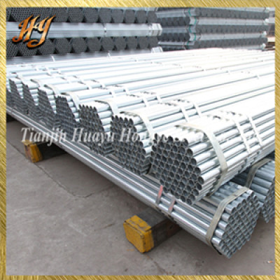 ERW Round Hollow Section 32mm Pre Galvanised Steel tubes