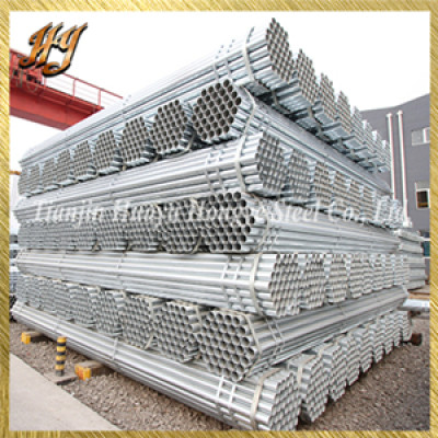 Construction Material ASTM A53 60mm Pre Galvanised Steel tubes