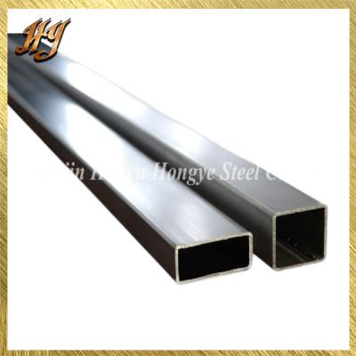 Mechanical / Structural Galvanizsd Steel Rectangular Tube Pipe