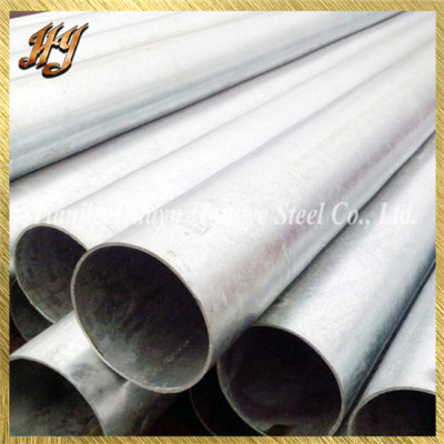 Galvanized Round Duct Steel Structural Pipe / Tubing