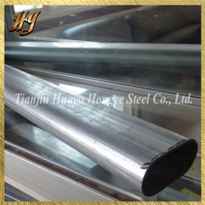 Structural ERW Flat Oval Steel Tube and Pipe