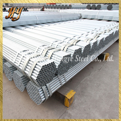 Q195/Q235/Q345 Pre-Galvanized Round Steel Pipes and Tubes for structure