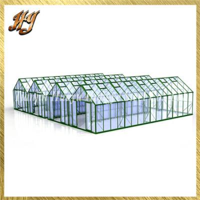 Best Safe Galvanized Box Tube Steel Frame Venlo Greenhouse for Sale