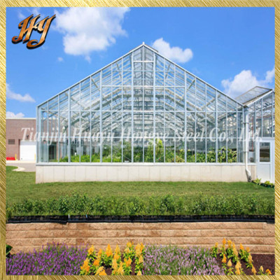 Undamaged Venlo Greenhouse Zinc Plated Steel Pipe