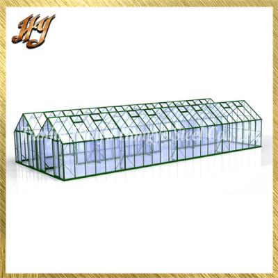 Safe Venlo Greenhouse Galvanized Steel Pipe