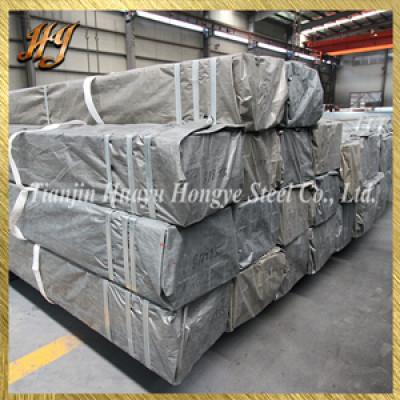 EN 10025 S235 profile pipe / galvanized square steel pipe
