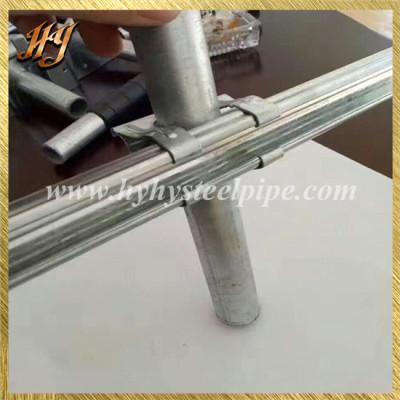 Zinc Plated Iron Tube for Venlo Greenhouse Frame Kits