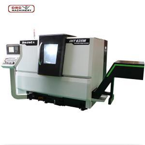 IHT625M China Mini Mechanical Dimensions 1.5m CQ6125 Mill Drill Bench BV20L CNC Wheel Repair Lathe Cutting Machine Sale