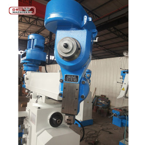 Vertical Metal Conventional Turret Milling Machine