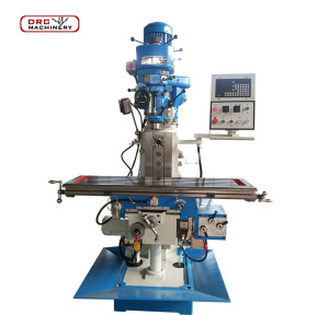 X6332W     Low Price China New Brand Vertical Metal Conventional Turret Milling Machine for Sale