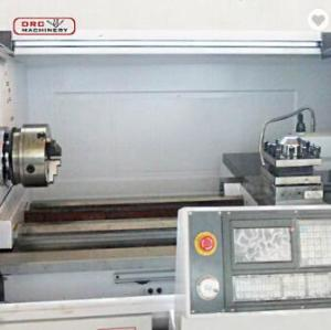 horizontal cnc lathe machine for making bar feeder