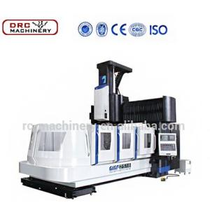 DRC Big Spindle Bore Machine Center CNC Vertical Gantry Machine/3 axis heavy gantry machine center with FUNUC system controller