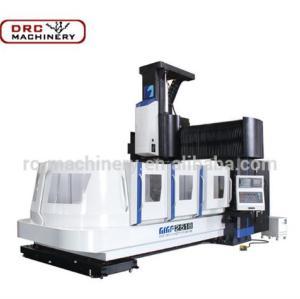 DRC Brand Heavy Duty GMF2518 Big Spindle Bore Machining Center CNC Vertical Gantry Milling Machine