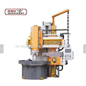 DRC Brand Low Cost CK5125 Heavy Duty CNC Metal Spinning Single Column Vertical Lathe Machine