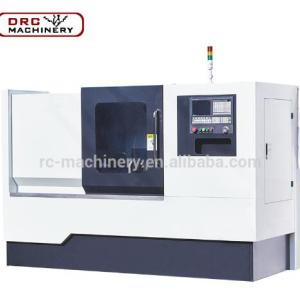DRC Brand KPD550 Horizontal Customized Flat Bed Lathe End Facing Milling Machine For Face Milling Center Hole Drilling Tapping