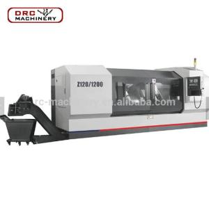 DRC Brand High Stability Z120/1200 Heavy Duty Center End Face Milling And Hole Drilling Machine CNC Lathe Machining