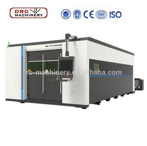 DRC Brand High Precision Power RCFCP6020F 6000w China Desktop CNC Fiber Sheet Metal Sheet Laser Cutting Machine For Sale