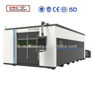 4000W Sheet Metal CNC Fiber Laser Cutting Machine