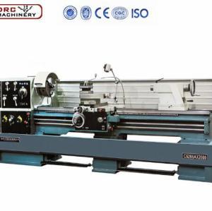 manufacturer DRC CQ6280 high precision metal bench lathe light duty lathe machine for making threads
