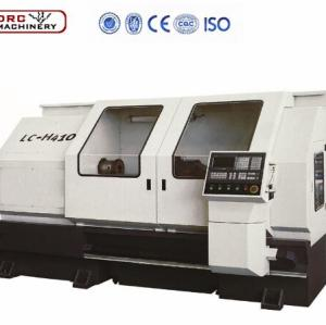 DRC Flat bed CNC lathe LC-H410 horizontal cnc lathe machine for making oil mining pipe threads