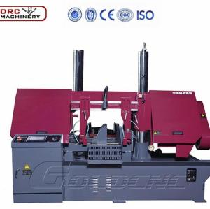 DRC multifunction High Double Column Horizontal band saw cutting machine for large Steel metal plate